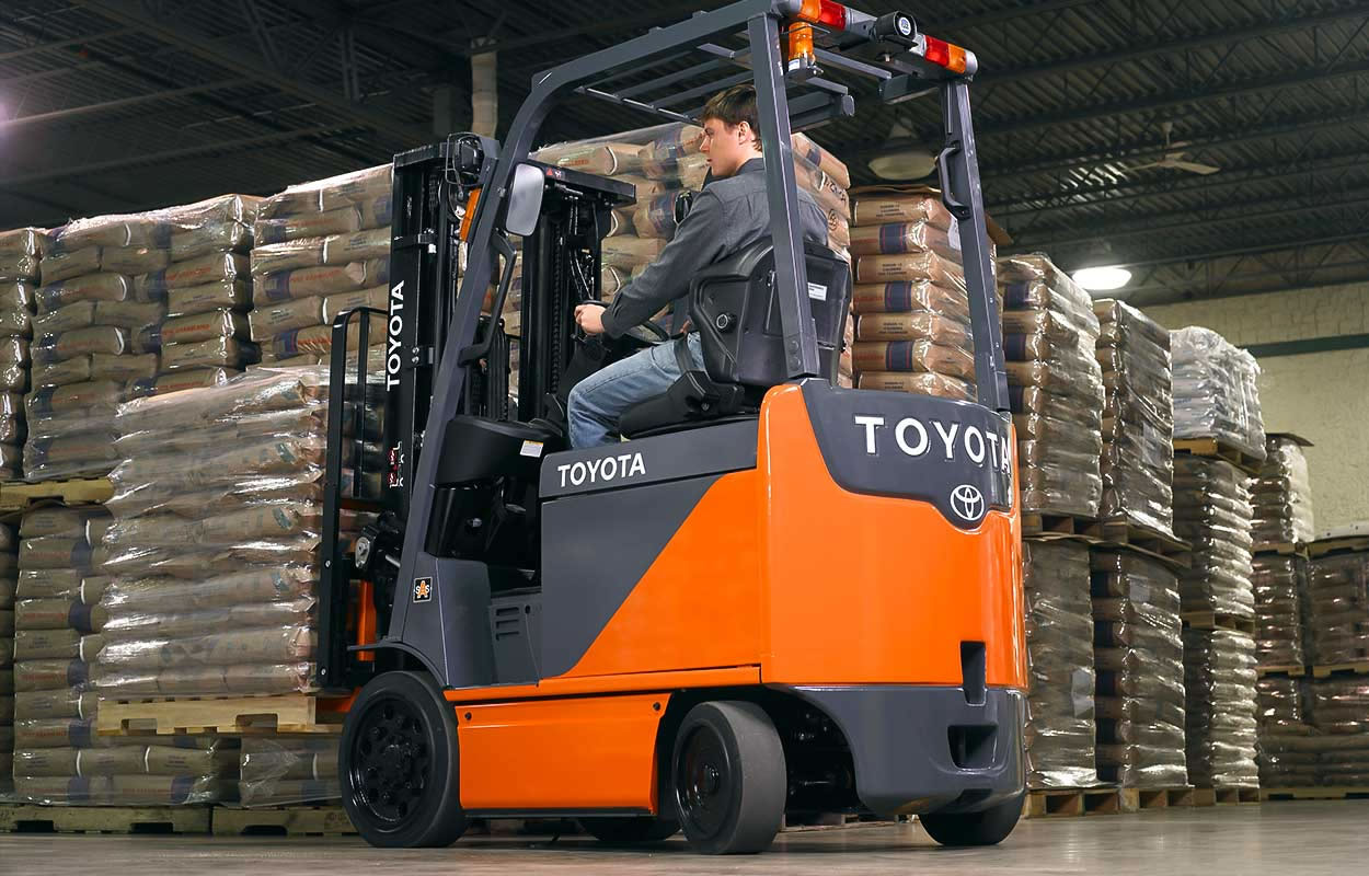 Electric Powered Cushion Lift Truck