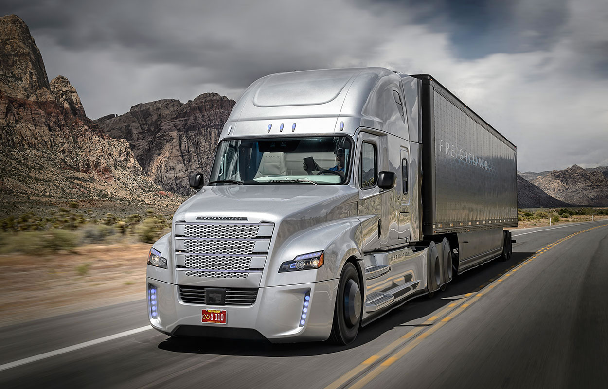 Freightliner Cascadia Innovation