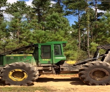 Forestry Skidders-John Deere-648H