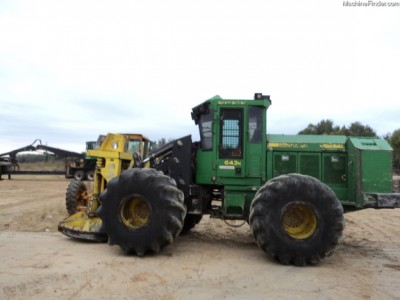 Forestry Feller Bunchers-John Deere-643K