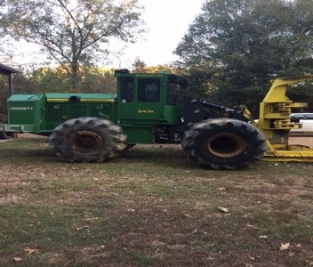 Forestry Feller Bunchers-John Deere-843K