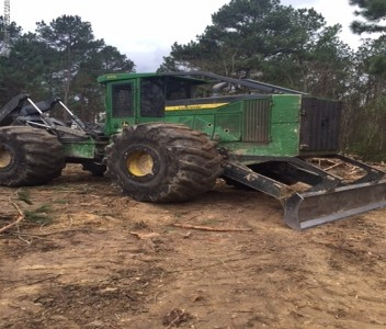Forestry Skidders-John Deere-948L