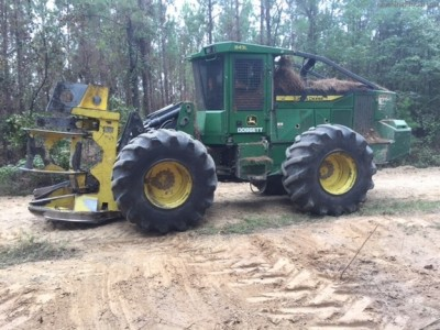 Forestry Feller Bunchers-John Deere-843L