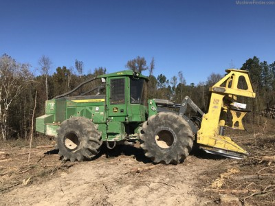 Forestry Feller Bunchers-John Deere-643L