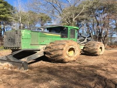 Forestry Skidders-John Deere-748L