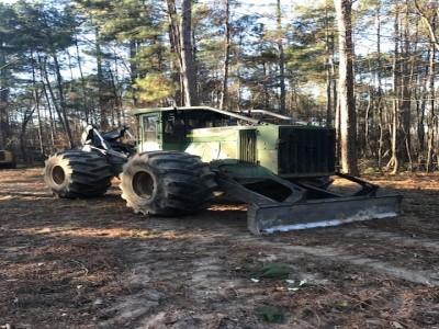 Forestry Skidders-John Deere-848L