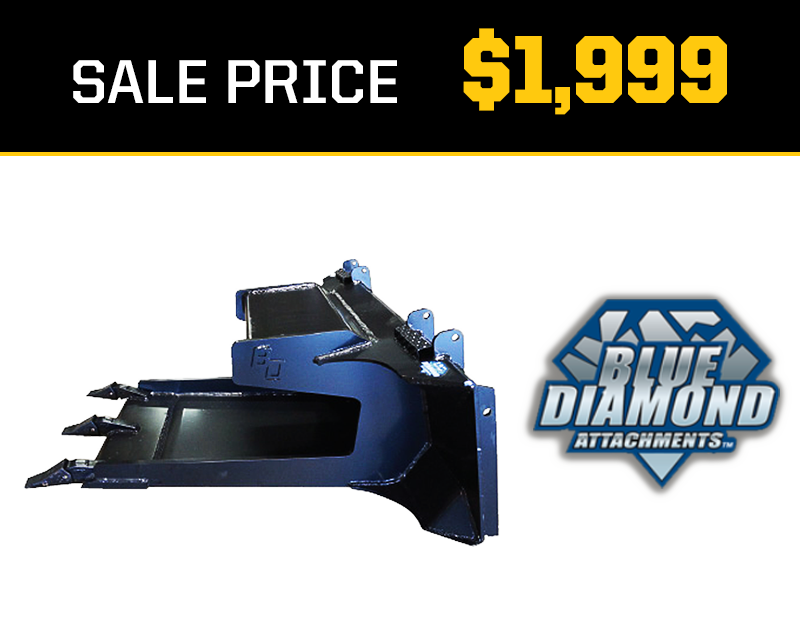 Blue Diamond Slab Bucket Sale
