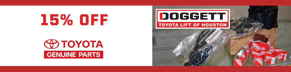 SAVE ON GENUINE TOYOTA PARTS