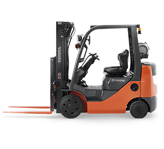 Internal Combustion Forklifts: Cushion Tire