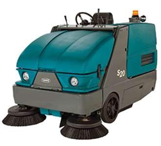 Large Rider Sweepers Scrubbers - Used riding floor scrubber for sale