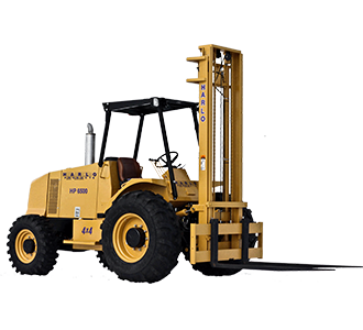 HP6500 Rough Terrain Forklift