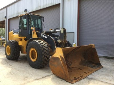 Wheel Loaders-John Deere-644K
