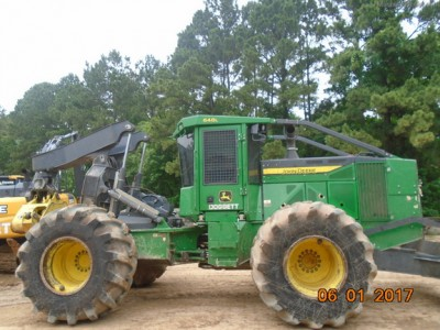 Forestry Skidders-John Deere-648L