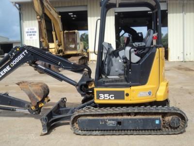 Compact Excavators-John Deere-35G