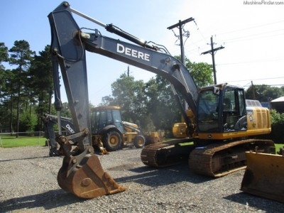 Excavators-John Deere-210GLC