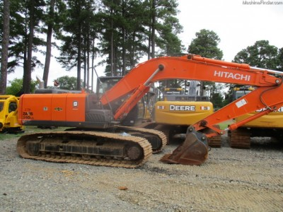 Excavators-Hitachi-ZX210LC