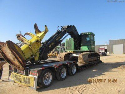 Forestry Feller Bunchers-John Deere-753J
