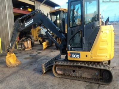Excavators-John Deere-60G