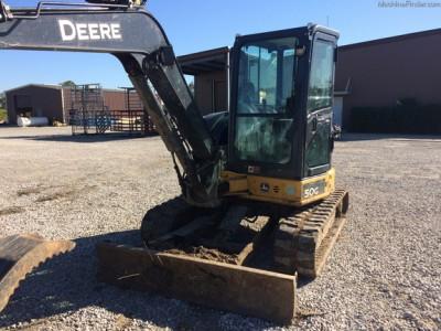 Compact Excavators-John Deere-50G