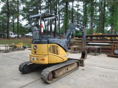 Compact Excavators-John Deere-35D