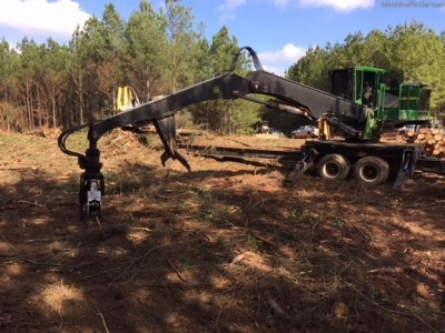 Forestry Knuckle Boom Loaders-John Deere-437D