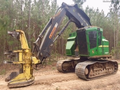 Forestry Feller Bunchers-John Deere-803M