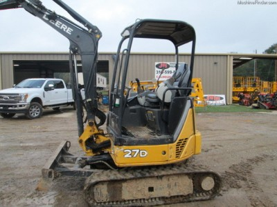 Compact Excavators-John Deere-27D