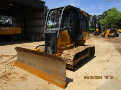 Crawler Dozers-John Deere-450J