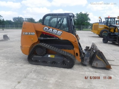 Compact Track Loaders-Case-TR310