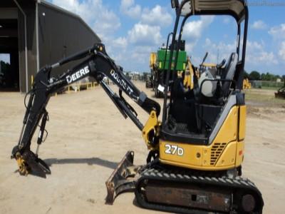 Compact Excavators-John Deere-27DX
