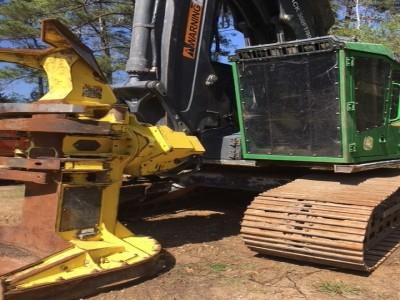 Forestry Feller Bunchers-John Deere-803M