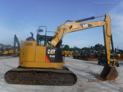 Excavators-Caterpillar-314ELCR