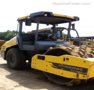 Paving Equipment-Dynapac-CA1500D
