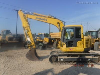 Excavators-Komatsu-PC138US