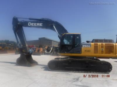 Excavators-John Deere-350GLC