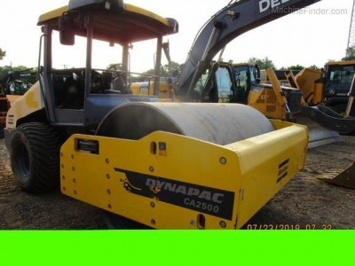 Paving Equipment-Dynapac-CA2500D