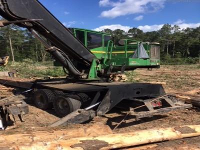 Forestry Knuckle Boom Loaders-John Deere-437D