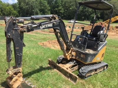 Compact Excavators-John Deere-17D