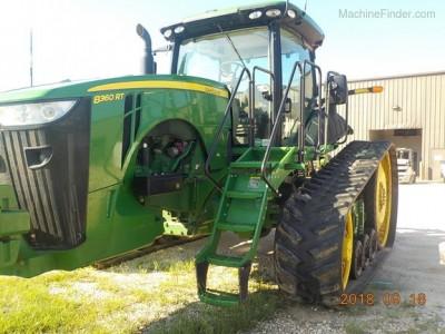 Scraper Tractors-John Deere-8360RT