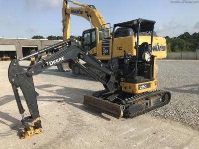 Compact Excavators-John Deere-26G