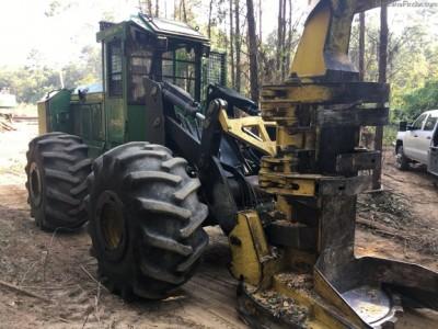 Forestry Feller Bunchers-John Deere-843K